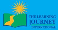 THE LEARNING JOURNEY INTERNATIONAL Brand Logo