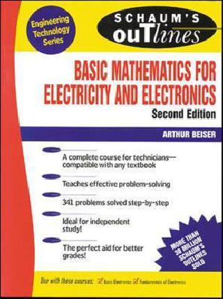 SCHAUM`S BASIC MATHEMATICS FOR ELECTRICITY AND ELECTRONICS