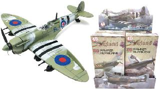 SECOND WORLD WAR PLANE MODEL BRITISH ASSORTED COLOR