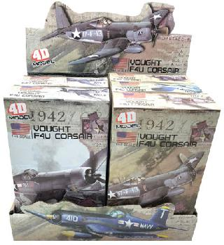 SECOND WORLD WAR PLANE MODEL AMERICAN ASSORTED COLOUR