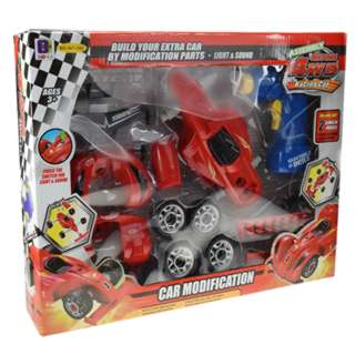 BUILD YOU OWN 4WD RACE CAR 24PCS/SET