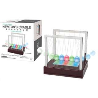 NEWTONS CRADLE SPECTRUM LED COLOR CHANGING