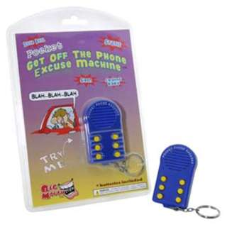 POCKET GET OFF THE PHONE EXCUSE MACHINE