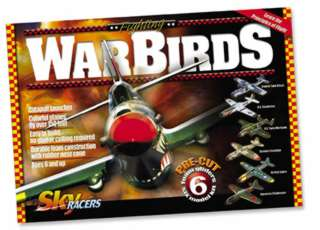 WARBIRDS SKYRACERS FOAM GLIDERS 