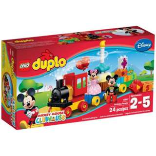 MICKEY & MINNIE BIRTHDAY PARADE DUPLO 24 PCS/SET