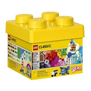 LEGO CREATIVE BRICKS-CLASSIC 221PCS/SET