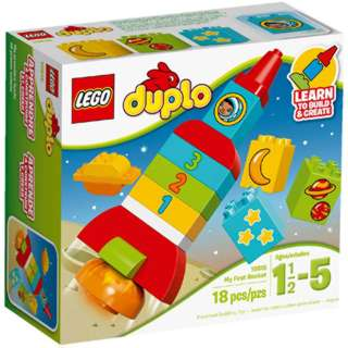 MY FIRST ROCKET-DUPLO 18PCS/SET