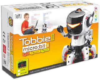 <strong>CIC21-894MB</strong><br>TOBBIE II MICRO BIT CODING ROBOT