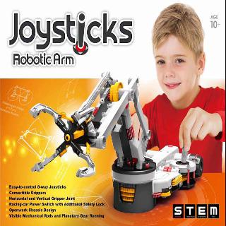 ROBOTIC ARM WITH JOYSTICK CONTROL