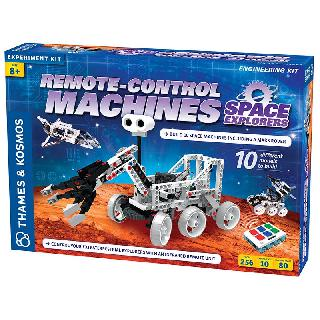 REMOTE CONTROL MACHINES SPACE EXPLORERS EXPERIMENT KIT