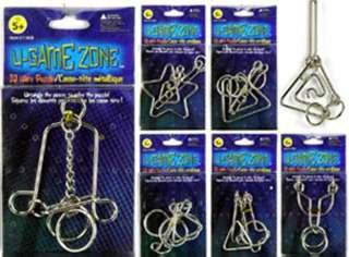 U-GAME ZONE IQ WIRE PUZZLE 
