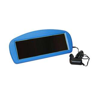 SOLAR CHARGER 12V/125MA WITH CIGARETTE LIGHTER PLUG