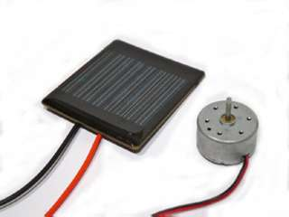 SOLAR CELL 3V 250MA WITH MOTOR KIT 2.5X4.5IN