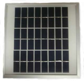 SOLAR PANEL 12V 250MA 3W 7X7IN FRAME BOX GLASS
