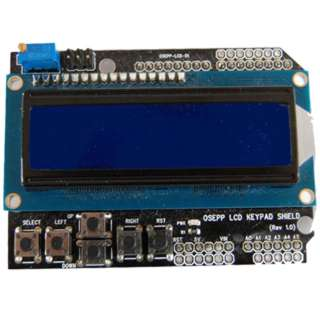 LCD DISPLAY & KEYPAD SHIELD 16X2 FOR ARDUINO BOARDS