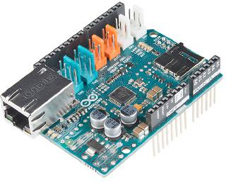 ARDUINO ETHERNET SHIELD 2 WITHOUT POE MODULE