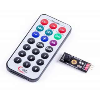 IR RECEIVER MODULE REMOTE KEYPAD FOR ARDUINO PROJECTS