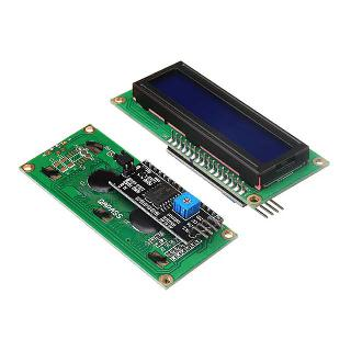 LCD DISPLAY 16X2 IIC/I2C BLUE BACKLIGHT COMPATABLE W/ARDUINO