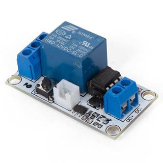 RELAY MODULE 1 CHANNEL W/TOUCH BISTABLE SWITCH 12V
