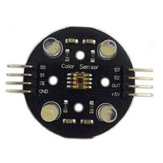COLOR SENSOR MODULE INCLUDING TSC3200 RGB CHIP AND 4 WHITE LED