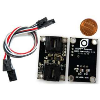COMPASS SENSOR MODULE FOR LOW FIELD MAGNETIC SENSING