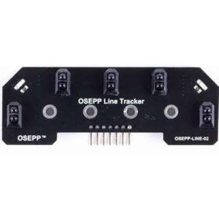 LINE FOLLOWER ARRAY FOR ARDUINO 5V 5 REFLECTIVE OTICAL SENSOR
