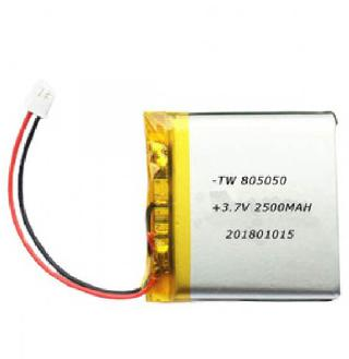 BATTERY LIPO 3.7V 2500MAH 