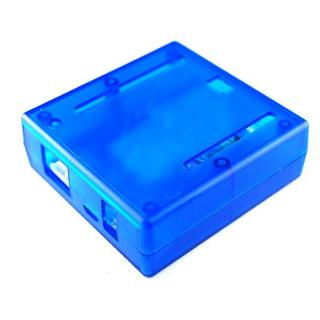 ARDUINO UNO ENCLOSURE PLASTIC BLUE 2.95 X 2.91 X 1.06IN