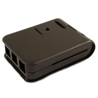 RASPBERRY PI 3 2 & B+ ENCLOSURE BLACK PLASTIC