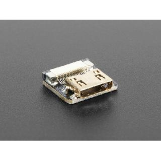 HDMI MINI FEMALE-RIBBON CABLE CONNECTOR