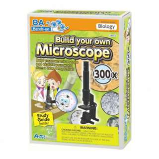 BUILD YOUR OWN MICROSCOPE 300X 16PAGES GUIDEBOOK