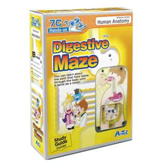 DIGESTIVE MAZE WITH GUIDEBOOK