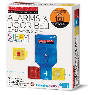 SMART CIRCUIT-ALARM AND DOORBELL E-BUILDING BLOCKS SYSTEM