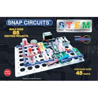 SNAP CIRCUITS STEM-LEARN ABOUT ELECTRICITY & MAGNETISM