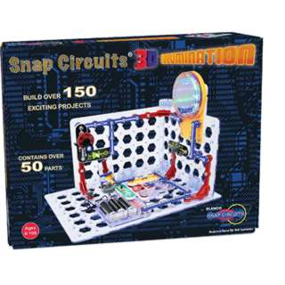 SNAP CIRCUITS 3D ILLUMINATION BUILD OVER 150 PROJECTS