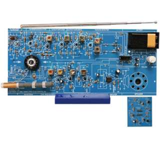 AM FM RADIO KIT USING IC AND TRANSISTOR