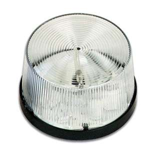 STROBE LIGHT 12VDC CLEAR FLASHIN LED