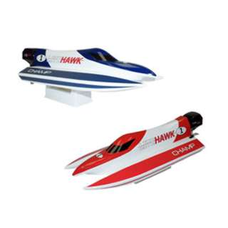 RADIO CONTROLLED CHASE POOL BOAT 2.4GHZ ASSORTED COLOR (RED/BLUE)