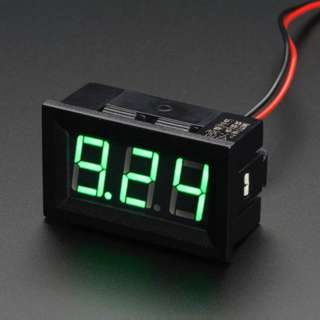 PANEL METER DIGITAL 4.5V - 30VDC 