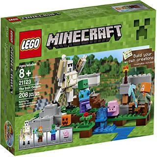 THE IRON GOLEM-MINECRAFT 208 PCS/SET