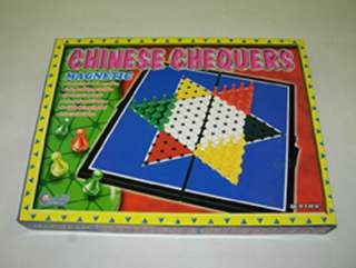 TRAVEL MAGNETIC CHINESE CHECKERS 