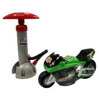 AIR POWERED MOTORCYCLE 