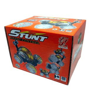 RADIO CONTROLLED STUNT CAR SUPER TURBO SOMERSAULT RACER