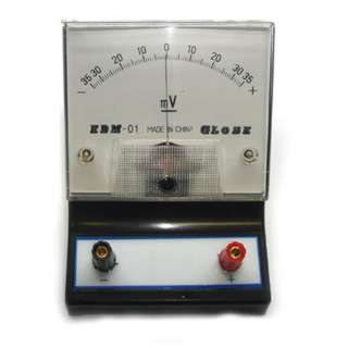 METER ANALOG BENCHTOP 35-0-35MV DC VOLTMETER EDUCATIONAL
