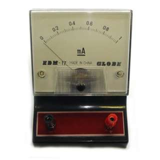 METER ANALOG BENCHTOP 0-1MA DC AMMETER EDUCATIONAL