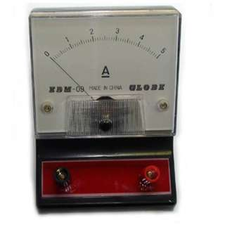 METER ANALOG BENCHTOP 0-5A DC AMPMETER EDUCATIONAL