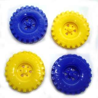 WHEELS 4PK 3IN DIAMETER FITS 3MM AXLE