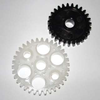 GEAR KIT WITH TWO GEARS 27 & 34 TOOTH PLASTIC