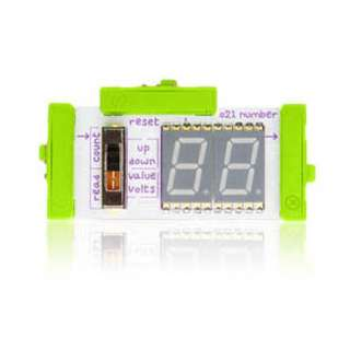 LITTLEBITS NUMBER MODULE 