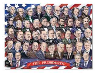 AMERICAN PRESIDENTS FLOOR PUZZLE AGES 6+